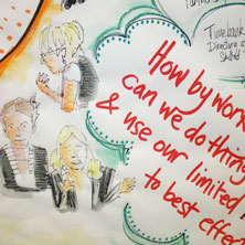 appreciative inquiry experts - Appreciating People, Liverpool UK, visual minute