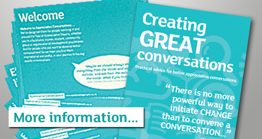 Creating Great Conversations