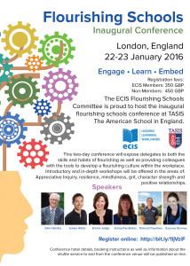 Flourishing schools conference Jan 22 2016